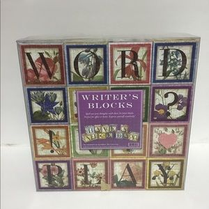 Writers Blocks decorative